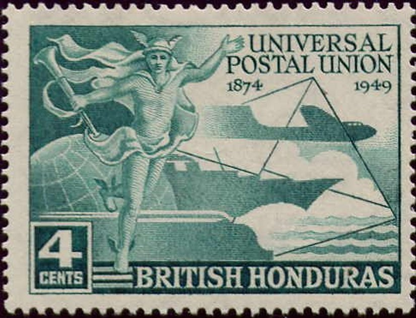 Stamps 1949 UPU