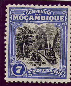 Stamps Mozambique Company