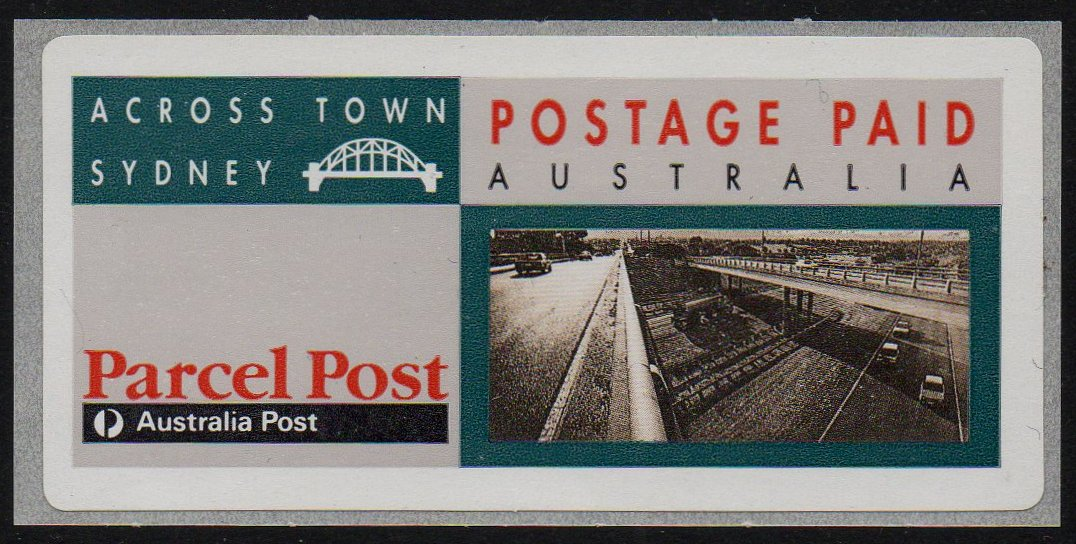 Australia Across Town Label