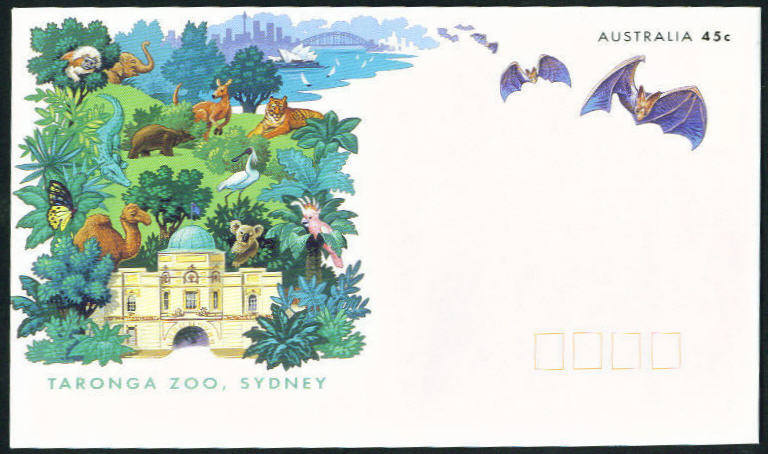 1994 Zoo envelope