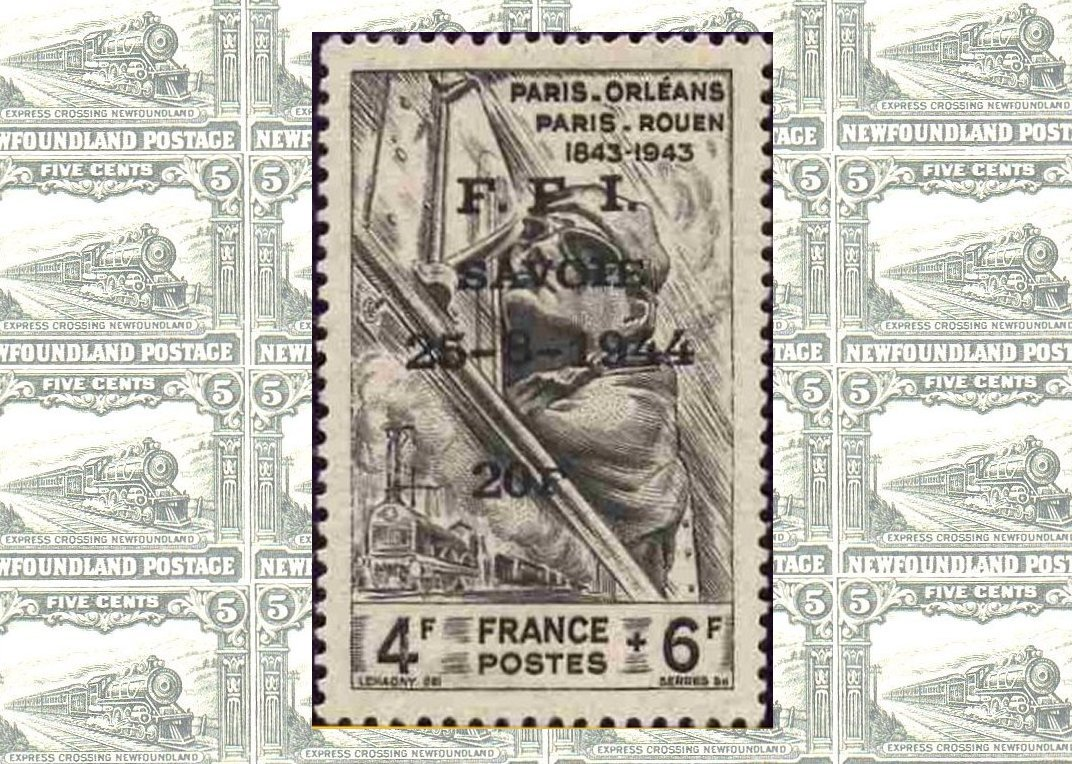 France Occupation and Liberation Stamps