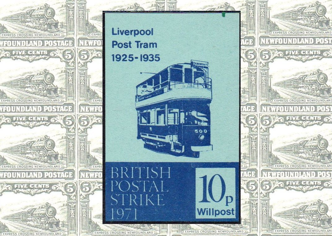 GB Stamps Strike Post 1971 Railway Thematics