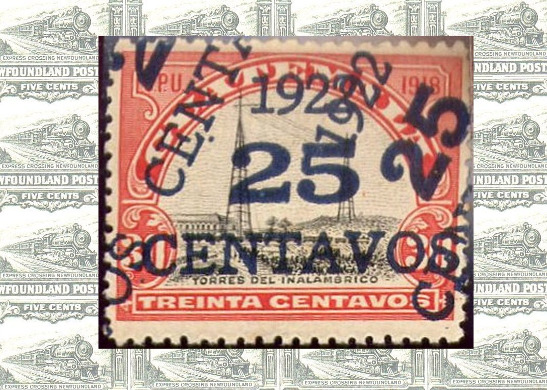 Guatemala Stamps - 1922 Surcharge Errors
